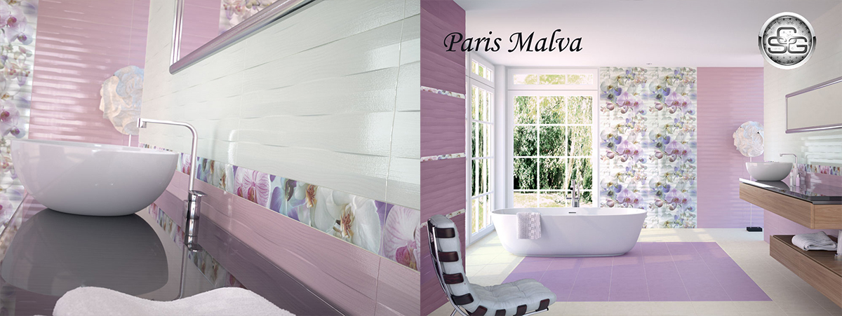 Бани 25/75 Paris Malva